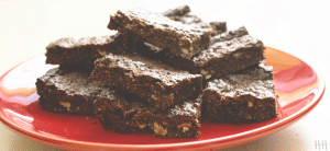 Brownie vegan et sans gluten